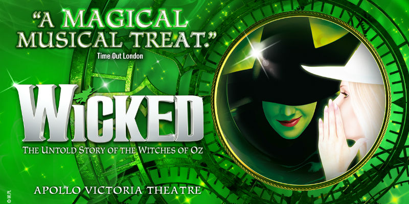 Wicked The Musical at the Apollo Victoria Theatre